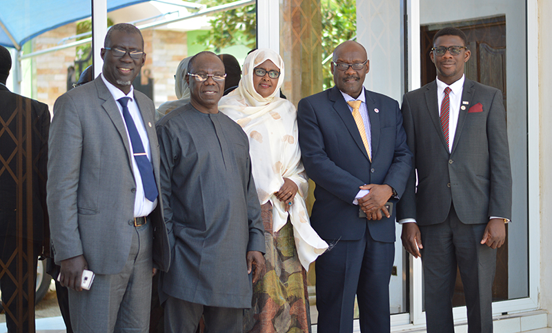 Newly elected Executive Council Members in a photograph with UNFPA Ghana Country Director at SAA Head Quarters, Accra – Ghana