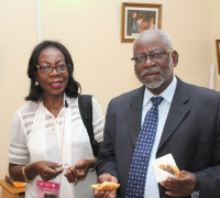 Handover at Society for AIDS in Africa (SAA) Secretariat
