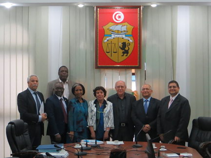 SAA delegation with the Government of Tunisian