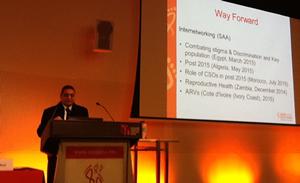 Dr. Ihab Abdelrhaman (SAA President  & ICASA2015 President)