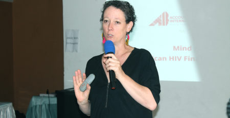 Ms Phillipa Tucker, Director of Research Development and Resourcing, Accountability International