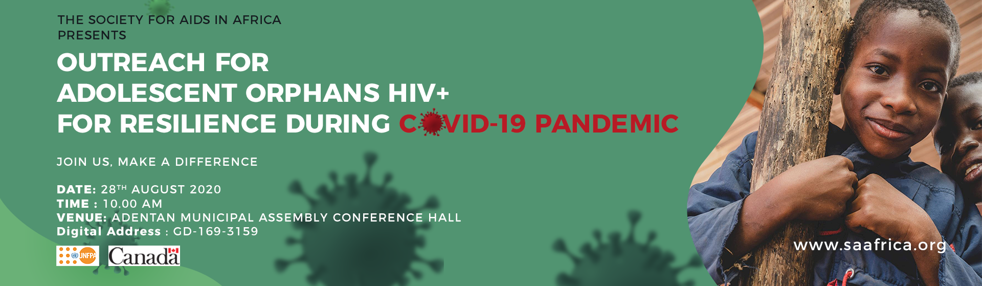 OUTREACH FOR ADOLESCENT ORPHANS HIV+ FOR RESILIENCE DURING COVID-19 PANDEMIC