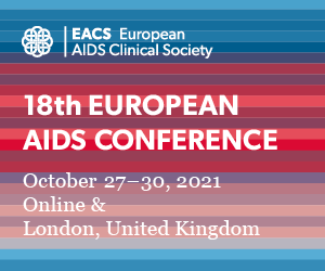 18th European AIDS Conference. Online & London, United Kingdom