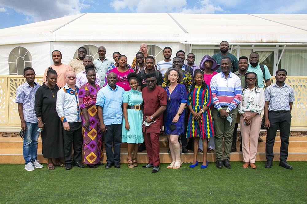 Group Photograph of Participants & Facilitators at the Full Circle Tax Watch Monitoring Project for Marginalized Populations Research Workshop