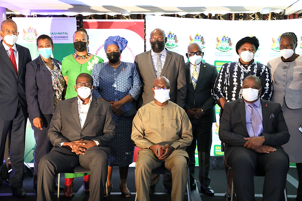 ICASA 2021 signing of the MoU Group Photograph